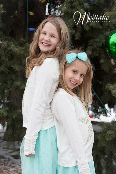 Arvada CO childrens holiday portrait