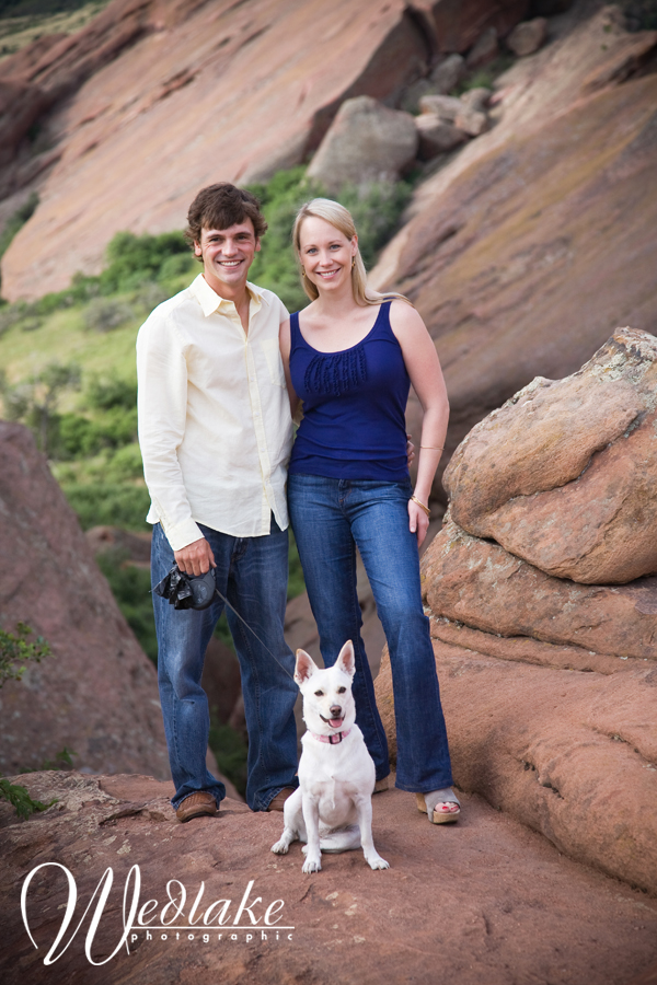 engagement photographer red rocks colorado