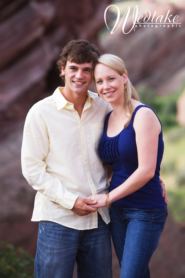 red rocks engagement pictures