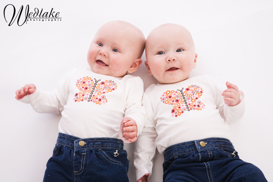 six month old twins baby pictures
