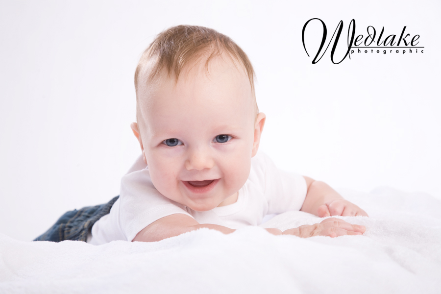four month old baby picture
