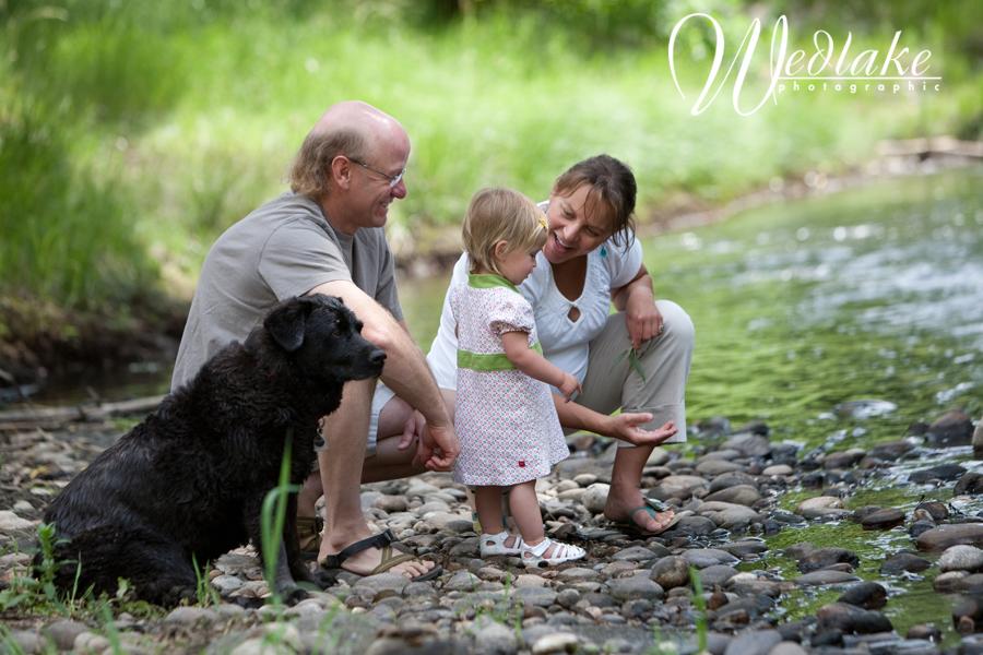 Denver pregnant family photo