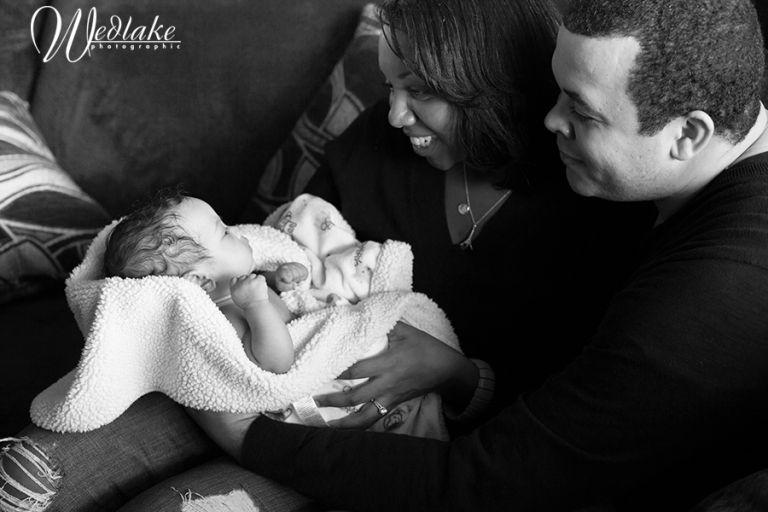 natural family baby photos denver