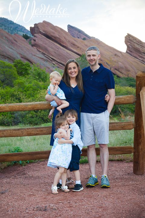 Red Rocks Family PIctures