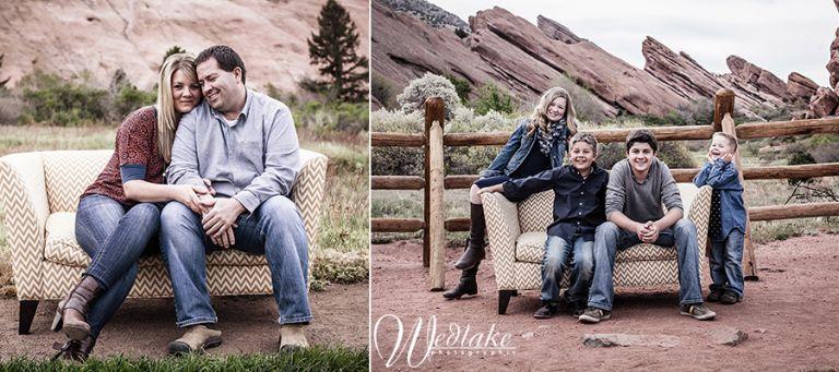 creatuve family photography red rocks CO
