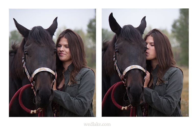 horse lovers senior pictures