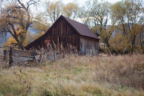Rustic Barn Boulder
