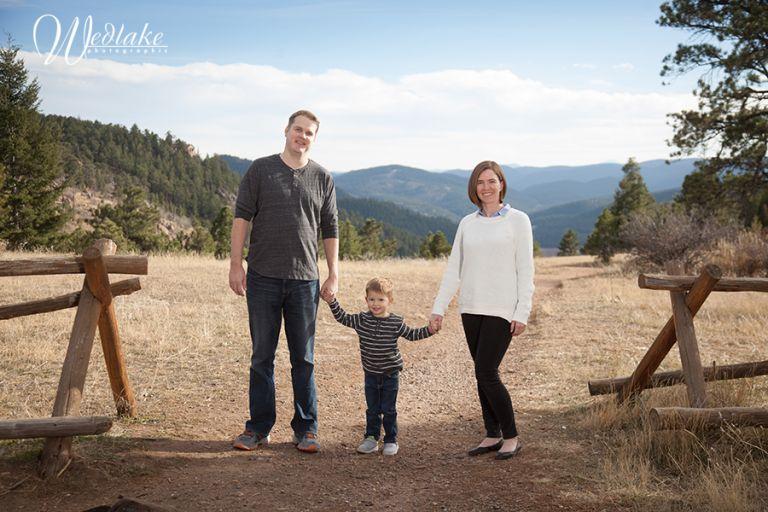 Mount Falcon Family Portrait