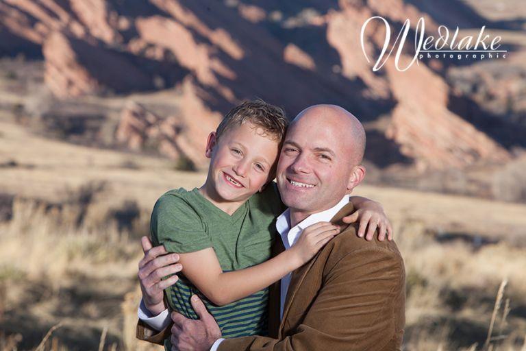 Mount Falcon CO Family Portraits