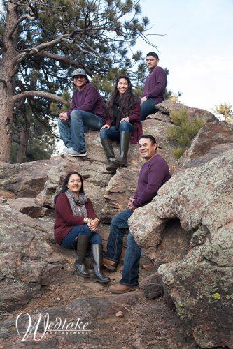 Family Portrait Lookout Mountain Golden CO