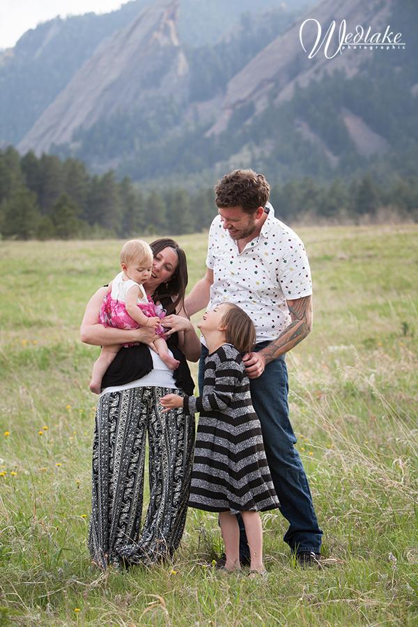 Chautauqua family photo Boulder