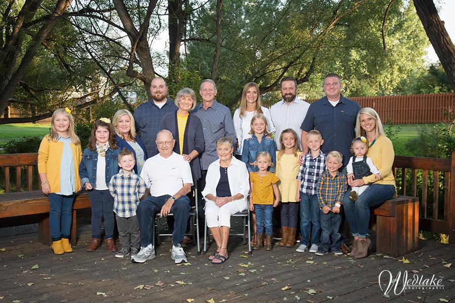 Multi Generations Family Photo Arvada CO