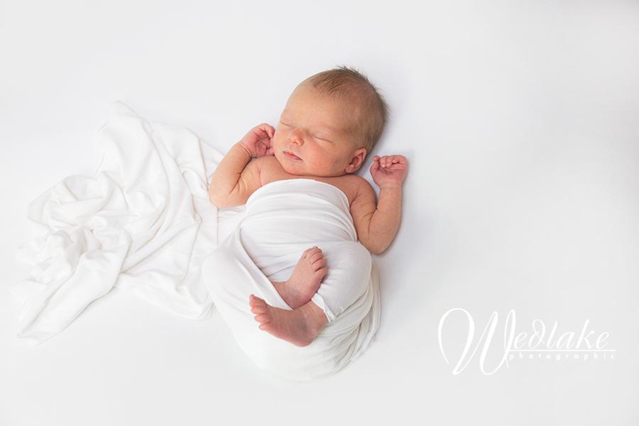 minimalistic newborn photography denver
