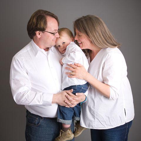 materity family portrait