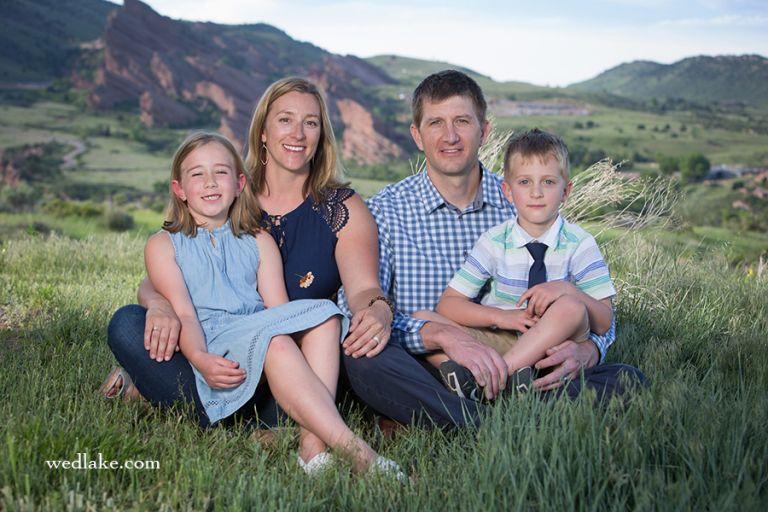 Family Pictures Mount Falcon Park Morrison CO