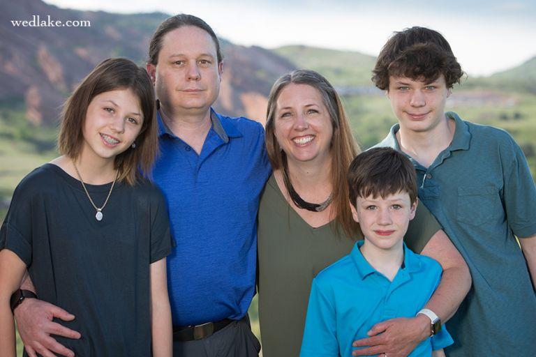 Mt Falcon Park Family Portrait