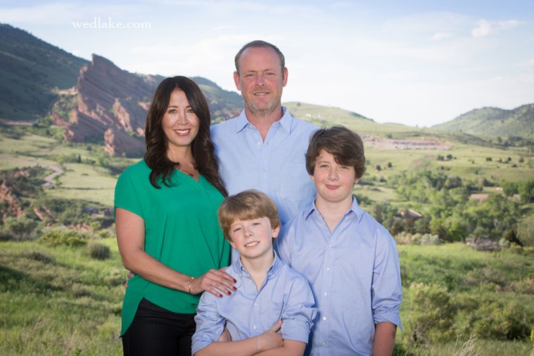 Family Portrait Photographer Morrison CO